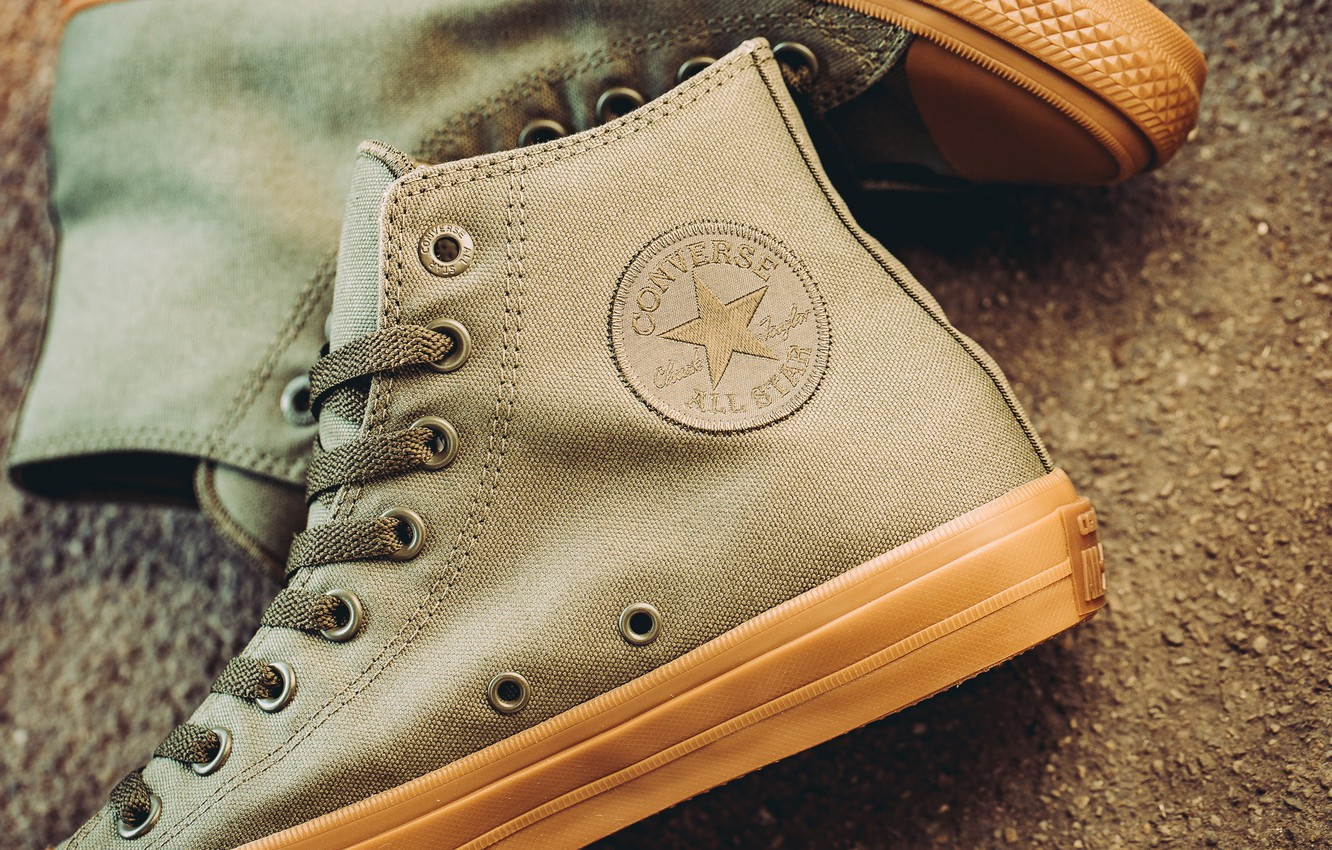 Photo wallpaper Sneakers, Converse, All-Star, Chuck Taylor