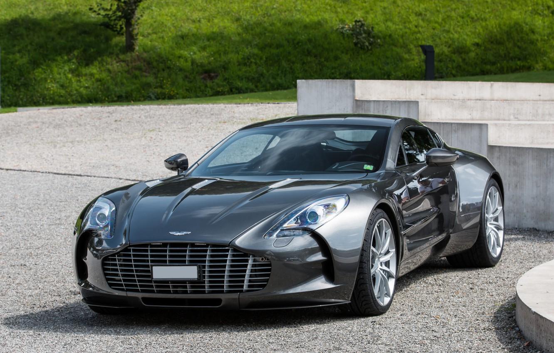 Photo wallpaper car, Aston Martin, Super, ONE-77