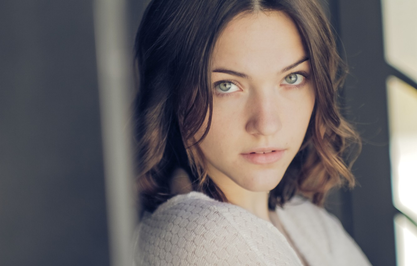 Wallpaper Girl Pretty Brunette Actress Violett Beane Images For Desktop Section Devushki Download