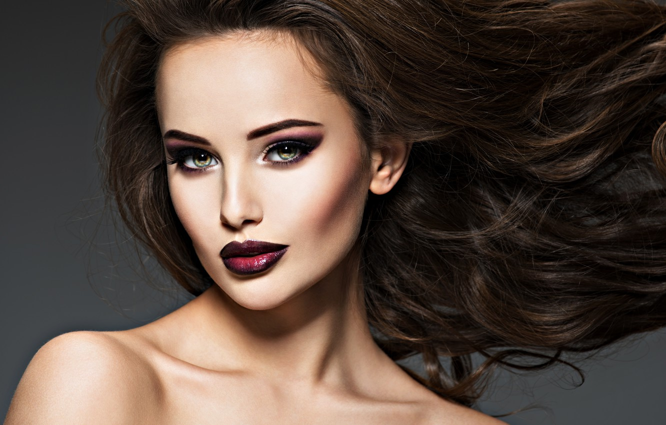 Wallpaper Girl Face Model Hair Portrait Beauty Makeup Hairstyle Beautiful Images For Desktop Section Stil Download