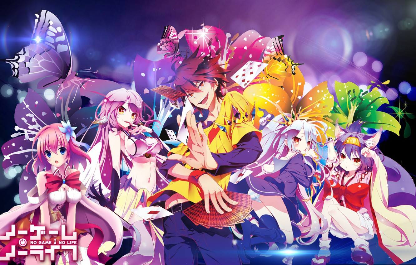Wallpaper Anime Art Two No Game No Life No Game No Life Images