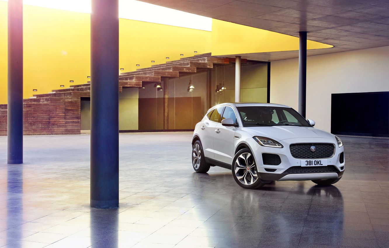 Photo wallpaper SUV, Jaguar, jaguar, Jaguar E-Pace