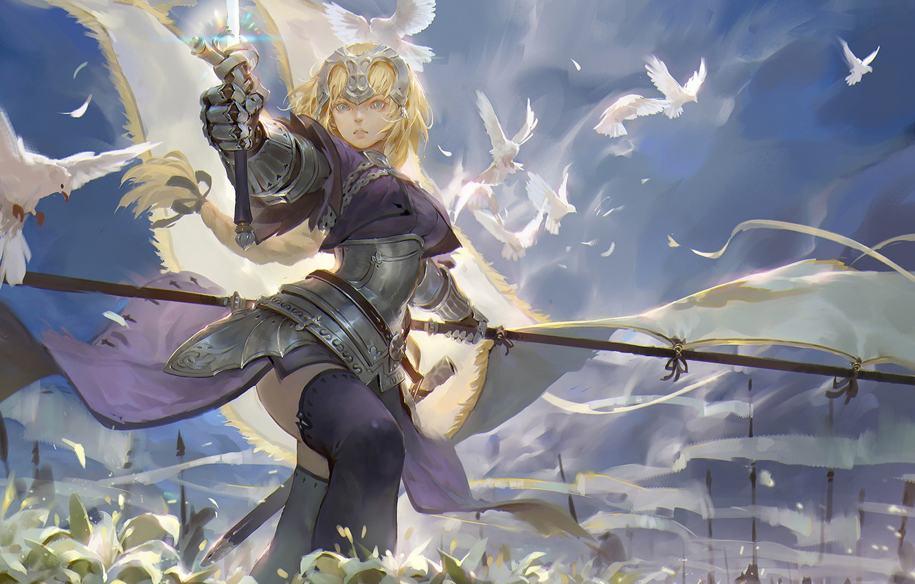 Wallpaper Girl Anime Art Fategrand Order Fateapocrypha