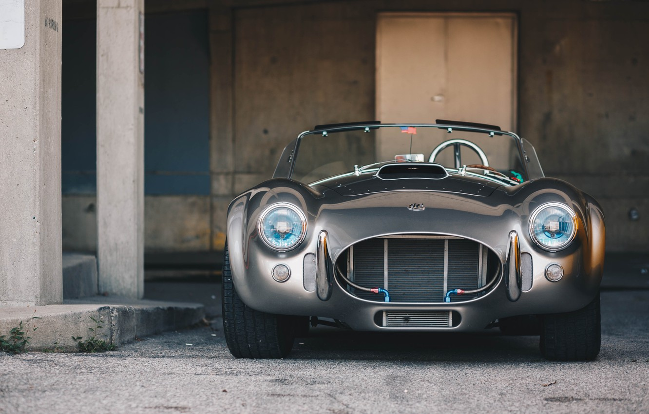 Photo wallpaper Shelby, the front, Cobra