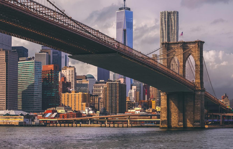 Wallpaper Skyscraper Home New York Usa Brooklyn Bridge