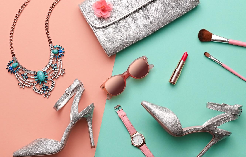Wallpaper Summer Style Watch Lipstick Fashion Cosmetics