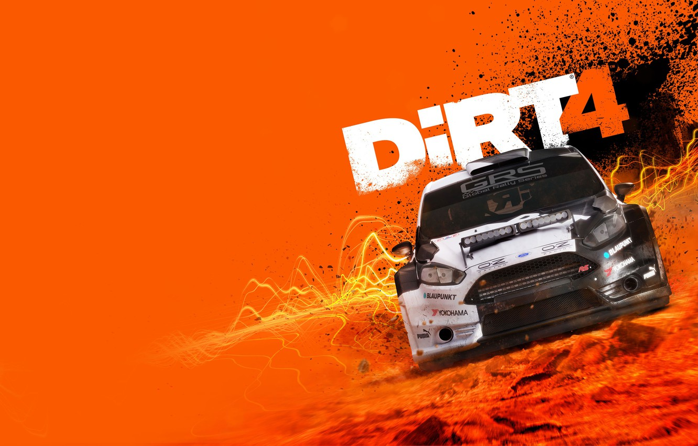 Photo wallpaper Ford, Car, Game, DiRT 4