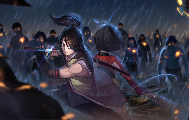 Photo wallpaper anime, His, Koutetsujou no Kabaneri, Mumei, Kabaneri iron fortress
