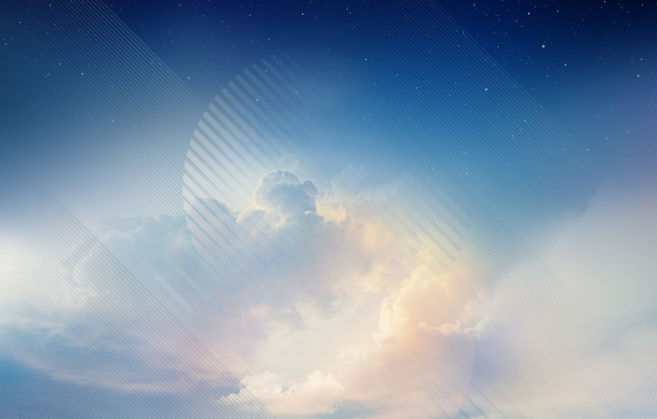 Wallpaper Blue Sky Galaxy Samsung Note 8 Stock Images For Desktop Section Hi Tech Download