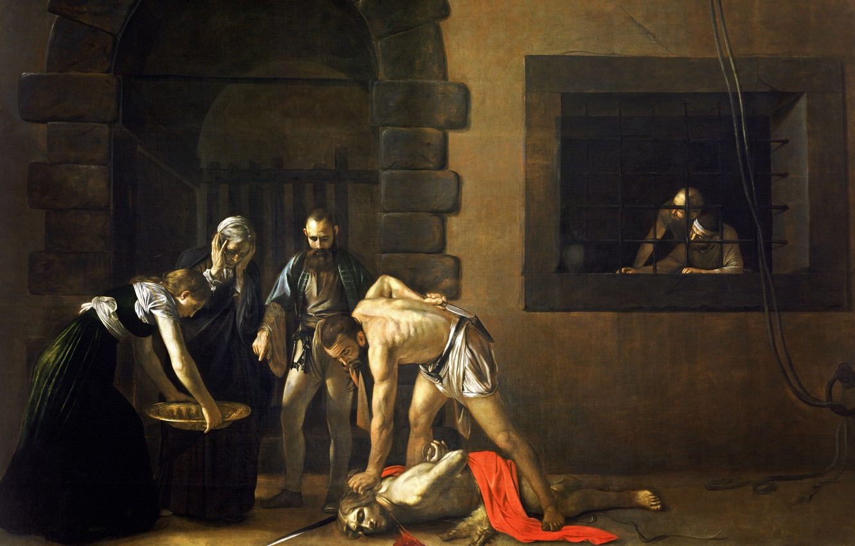 Photo wallpaper picture, religion, Caravaggio, mythology, Michelangelo Merisi da Caravaggio, The Beheading Of John The Baptist