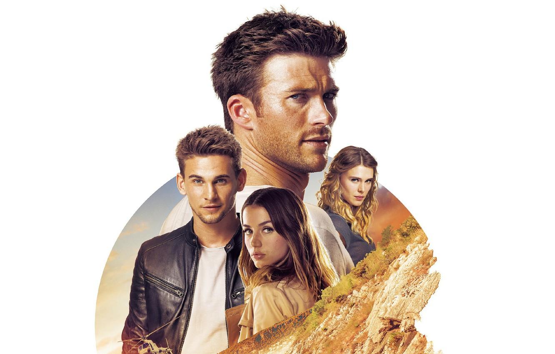 Photo wallpaper collage, white background, Thriller, action, poster, Gaia Weiss, Scott Eastwood, Scott Eastwood, Ana de Armas, …