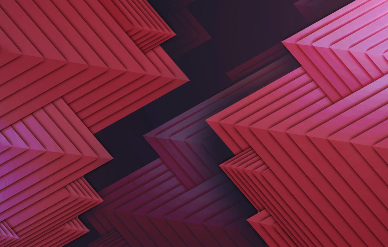 Wallpaper Dark Paper Light Red Blue Modern Pink