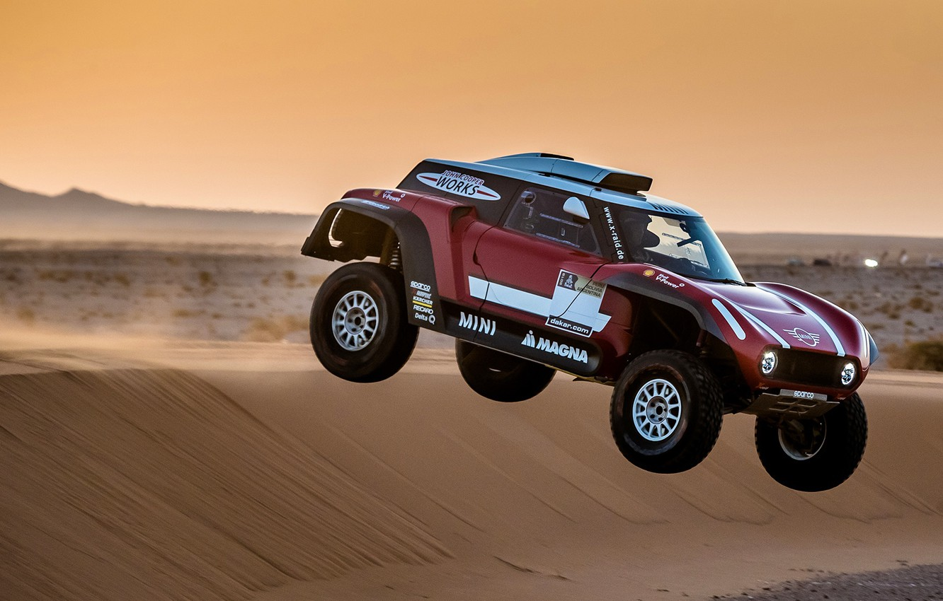 Wallpaper Sand, Mini, Sport, Desert, Speed, Rally, Rally