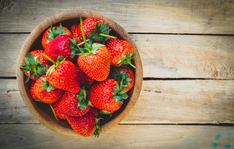 Photo wallpaper strawberry, berry, ripe, delicious, juicy