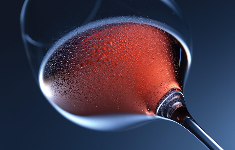 Photo wallpaper glass, drops, macro, background, wine, glass