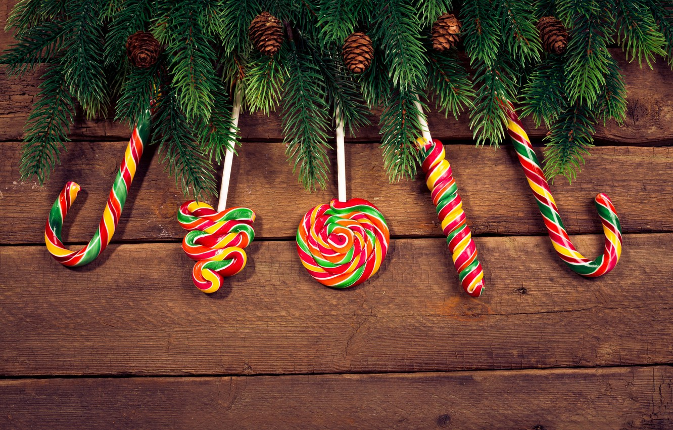 Wallpaper Holiday New Year Spruce Treats Images For