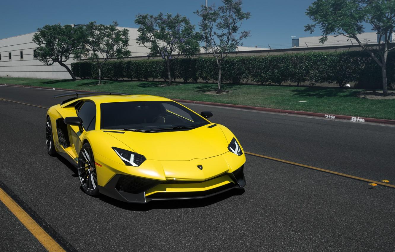 Photo wallpaper Lamborghini, Aventador, Rotiform DVO