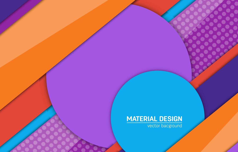 material design color vector art violet blu light blue orang
