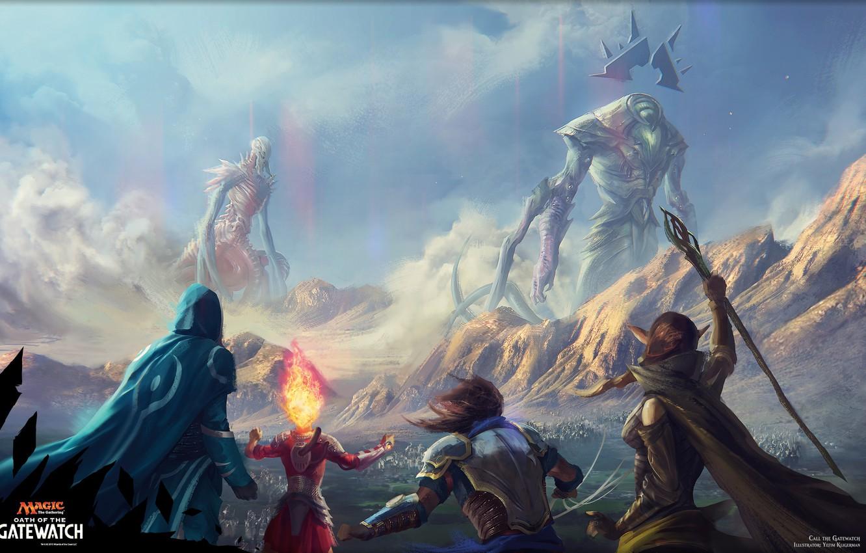 Wallpaper Fantasy Magic The Gathering Planeswalkers Images For Desktop Section Fantastika Download
