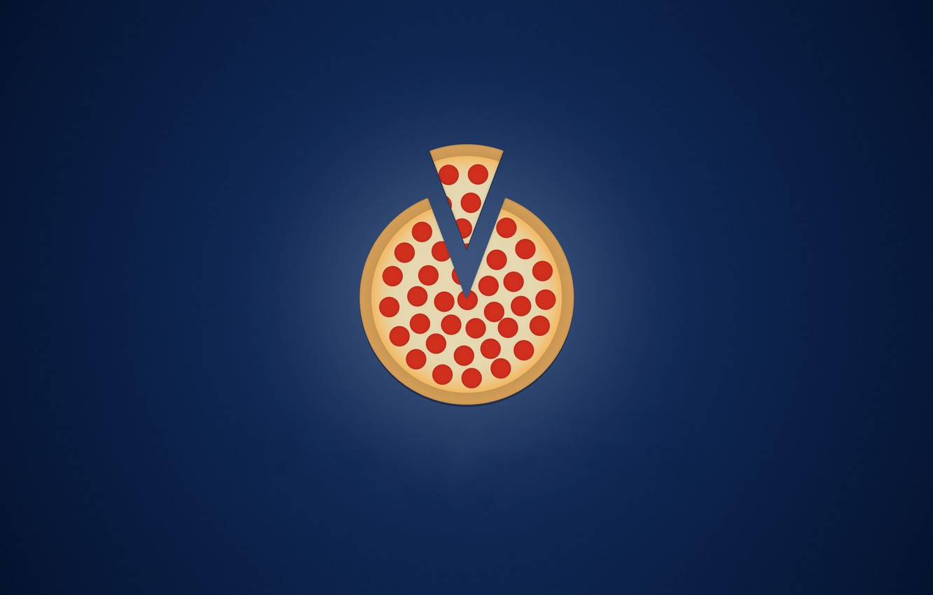 Photo wallpaper food, pizza, lunch, lunch