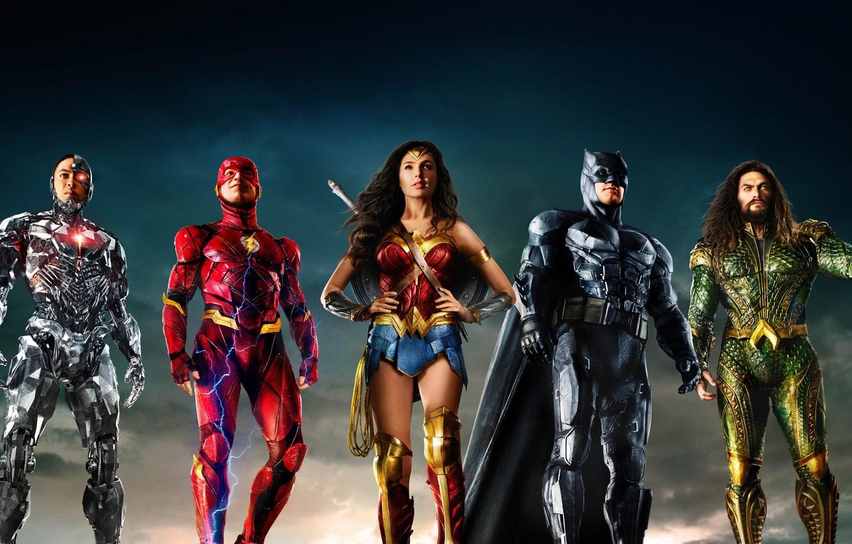Photo wallpaper background, fiction, Wonder Woman, poster, Batman, Ben Affleck, comic, costumes, superheroes, DC Comics, Bruce Wayne, …
