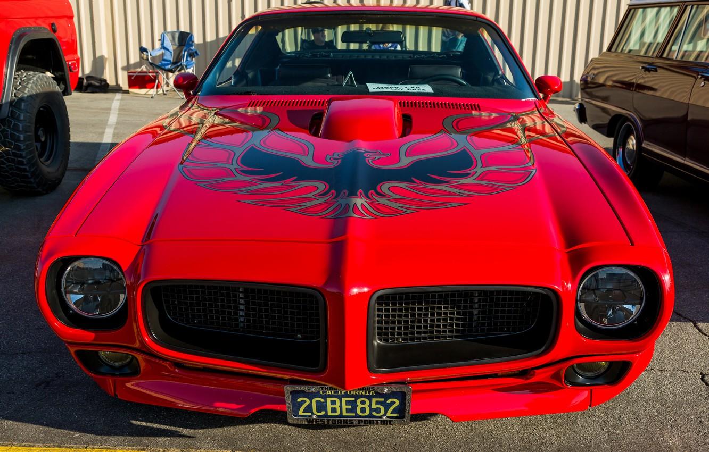 Photo wallpaper Pontiac, 1970, Firebird