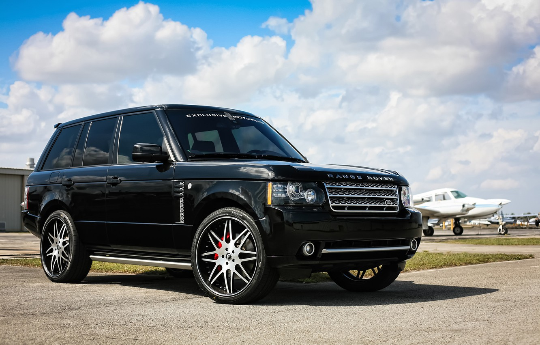Photo wallpaper Range Rover, Supercharged, Wheels, Forgiato, JL Audio, sound system