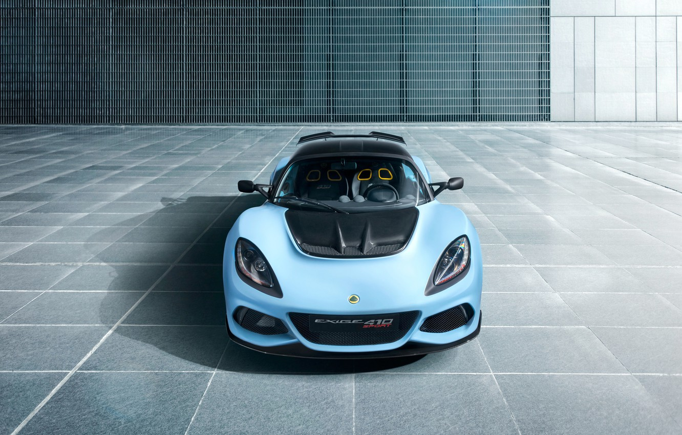 Photo wallpaper Lotus, front view, Requires, 2018, Sport, 410