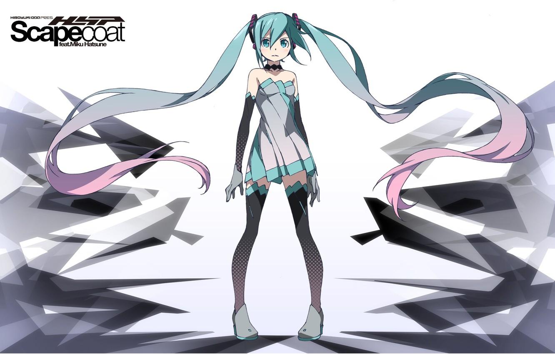Photo wallpaper hair, anime, art, girl, Vocaloid