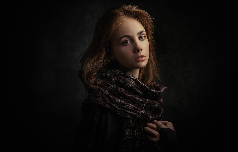 Photo wallpaper portrait, girl, Natural Light Portrait, Zubair Aslam, Look at you