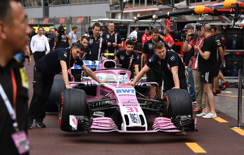 Photo wallpaper Pink, Cars, Sports