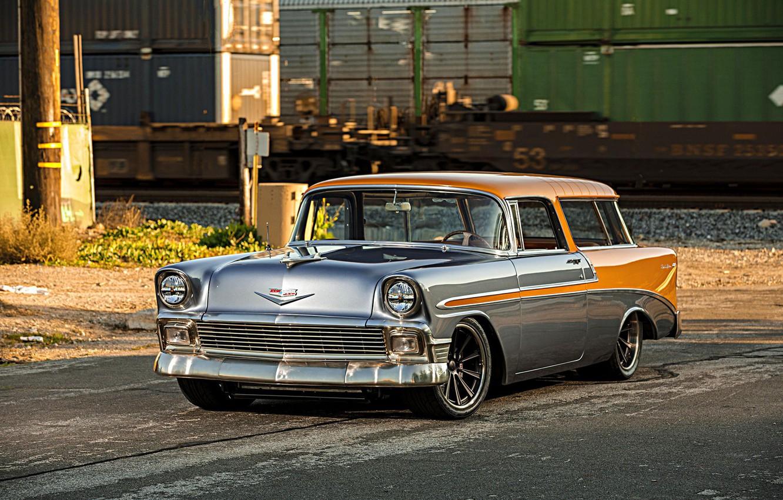 Photo wallpaper Chevrolet, Wheels, Nomad, Forgeline, Dropkick