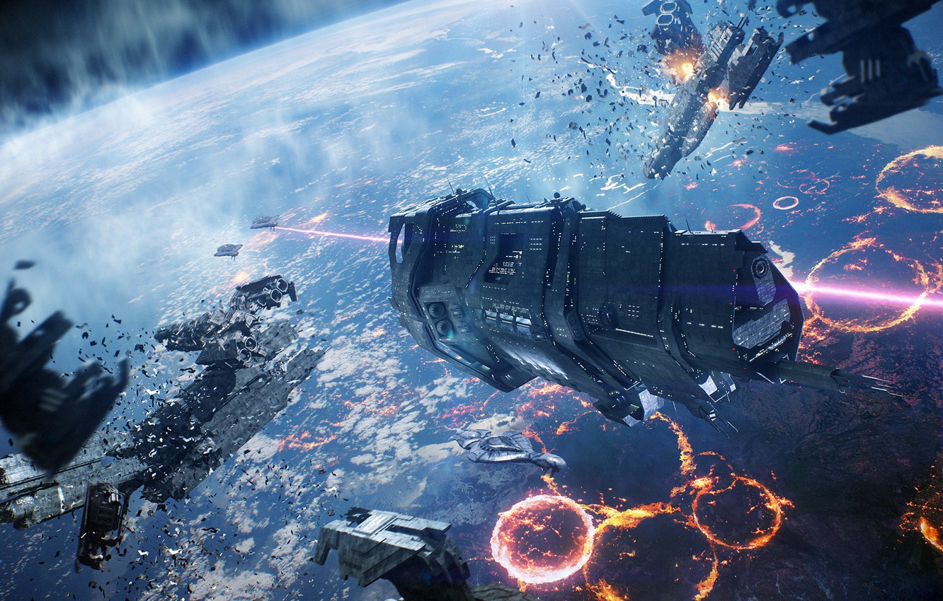Wallpaper Spaceship Halo Covenant Halo Reach Space