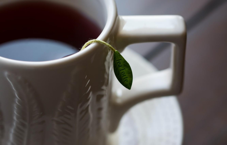 Photo wallpaper cup, porcelain, Tea Forever