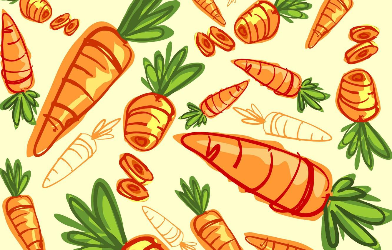 Photo wallpaper background, texture, carrots, vegetables