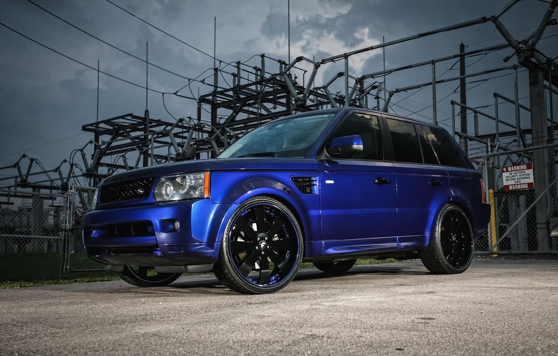 Photo wallpaper Range Rover, Sport, Wheels, Forgiato, Customized