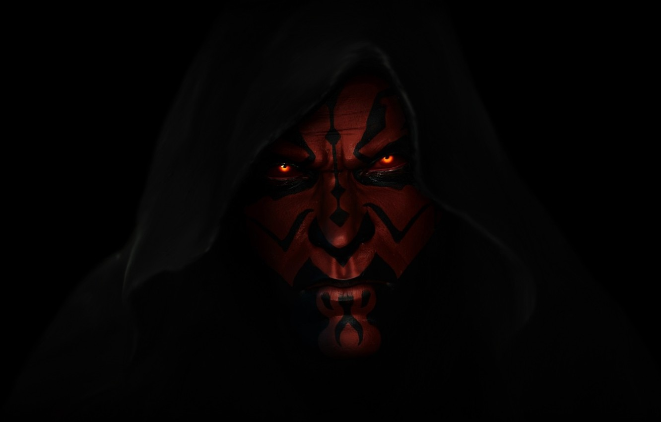 Wallpaper Star Wars Darth Maul A Sith Lord Dark Lord Of The