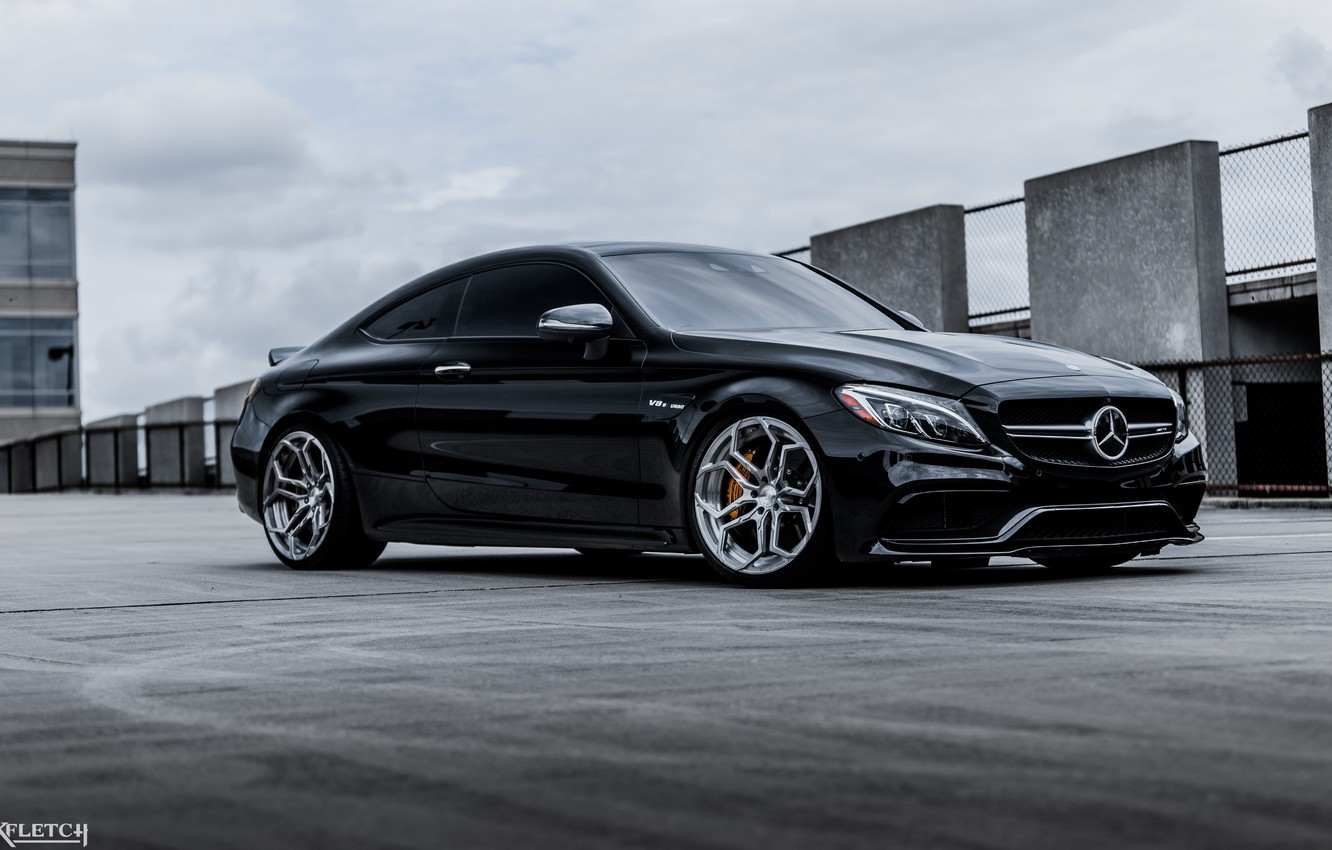 Photo wallpaper coupe, Mercedec Benz, c63s amg