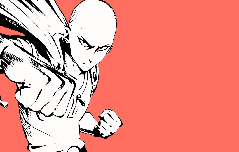 Wallpaper Art Punch Saitama One Punch Man Images For Desktop Section Art Download