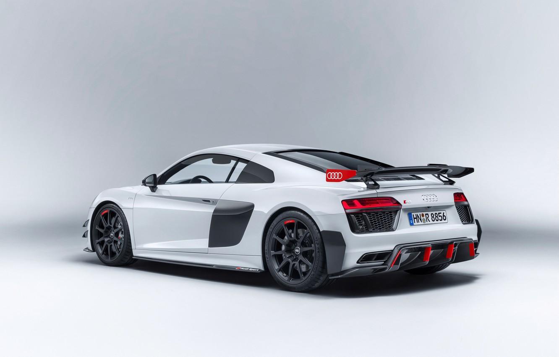 Photo wallpaper car, Audi, logo, Audi R8