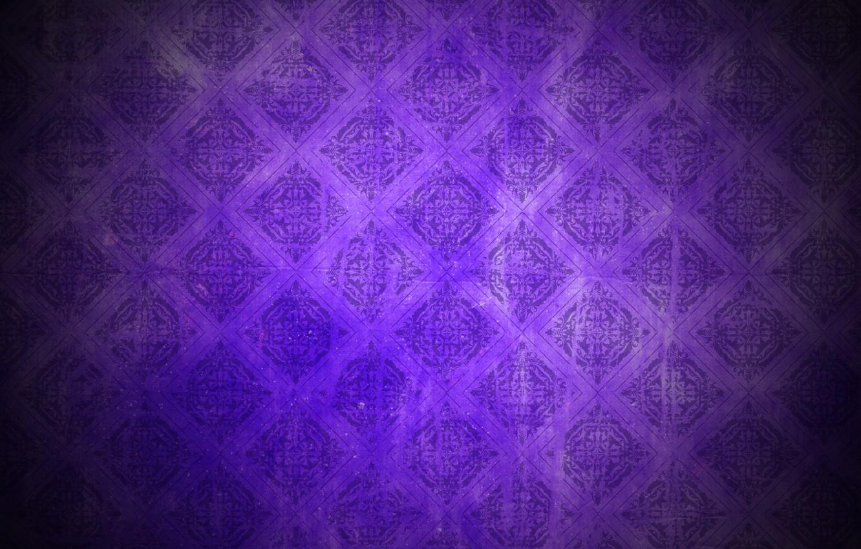 Photo Wallpaper Purple Background Pattern Dark Vintage