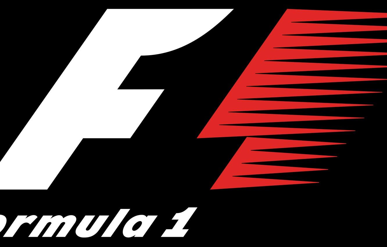 Photo wallpaper logo, formula 1, Formula 1, fon, F1, F1