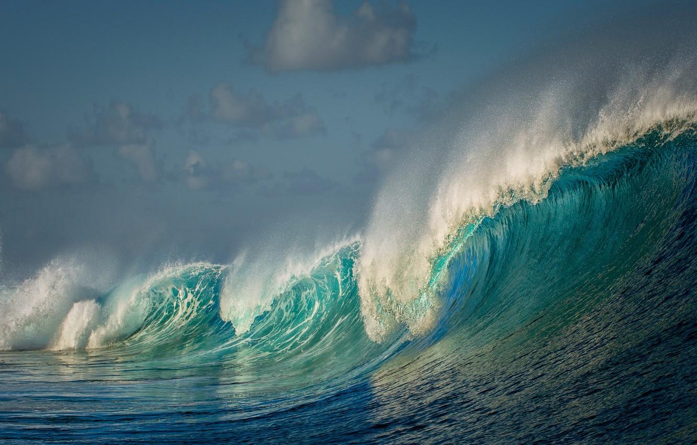Photo wallpaper sea, wave, water, nature, the ocean