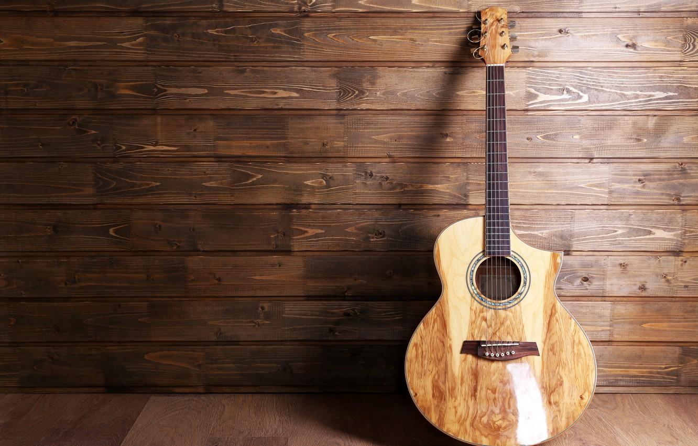 Photo wallpaper guitar, strings, music, blur, guitar, tool, acoustics, Grif, frets, music, bokeh, musical, six-string, wallpaper., instrument, …