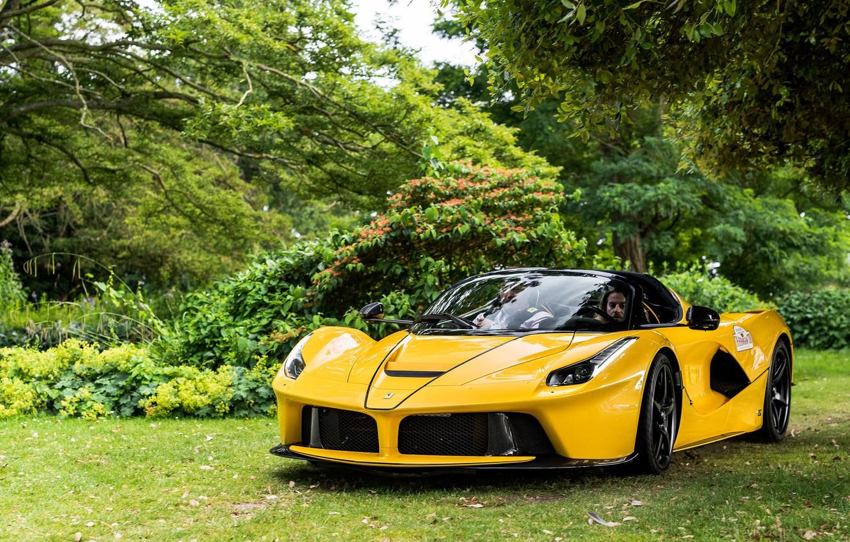 26+ Yellow Ferrari Wallpaper Desktop  Pictures
