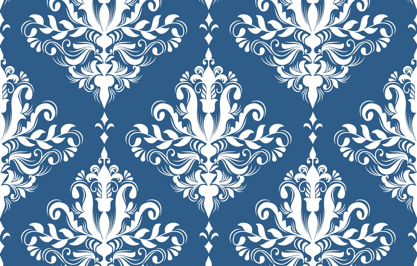 Photo wallpaper Wallpaper, texture, ornament, texture, vintage, wallpapers, pattern, royal, ornament, classical, seamless, textile, victorian, background.