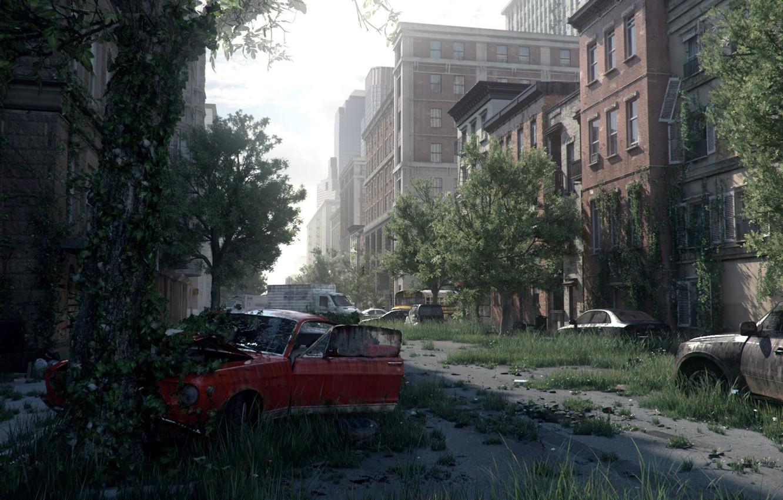 Photo wallpaper machine, street, building, Natural replacement, Stefan Schneider
