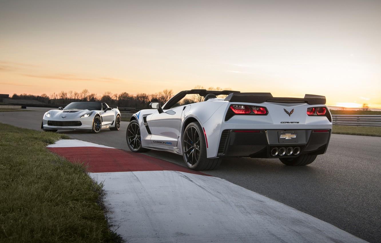 Photo wallpaper car, Corvette, Chevrolet, logo, Chevrolet Corvette, Chevrolet Corvette Carbon 65 Edition Model, Chevrolet Corvette Carbon …