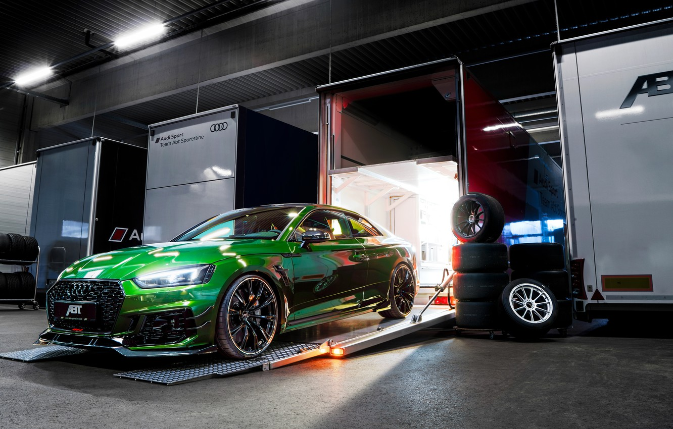 Photo wallpaper Audi, RS5, Coupe, 2018, ABBOT, RS5-R