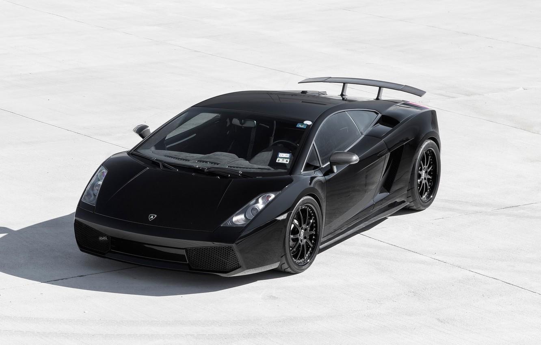 Photo wallpaper Lamborghini, Superleggera, Gallardo, Wheels, Strasse